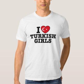 I Love Turkish Girls Shirt