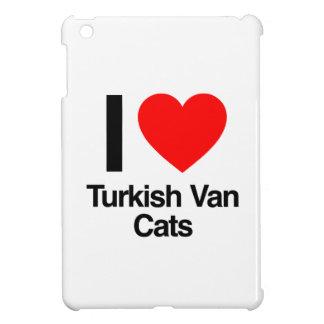 i love turkish van cats iPad mini case