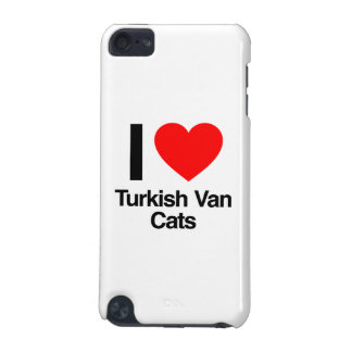 i love turkish van cats iPod touch (5th generation) cases