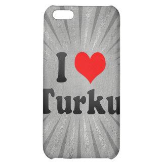 I Love Turku, Finland Case For iPhone 5C