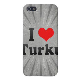 I Love Turku, Finland Cover For iPhone 5
