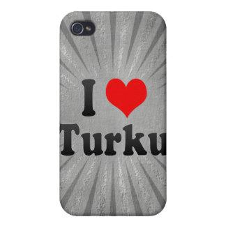 I Love Turku, Finland iPhone 4 Cover