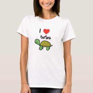 I love turles t-shirt