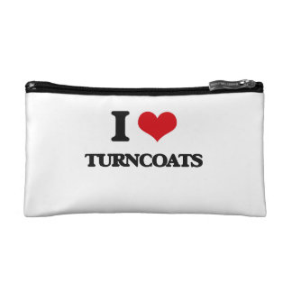 I love Turncoats Cosmetic Bags