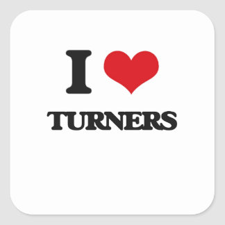 I love Turners Stickers