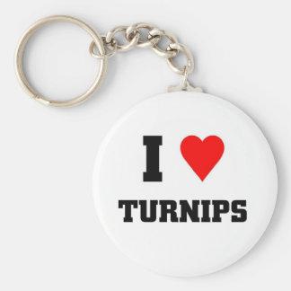 I love Turnips Keychain