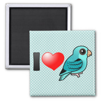 I Love Turquoise Linnies Magnet