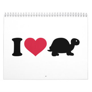 I love turtle calendar