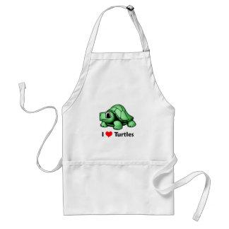 I love Turtles Aprons