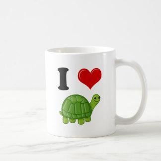 I Love Turtles Coffee Mug