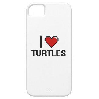 I love Turtles Digital Design iPhone 5 Covers