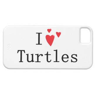 I Love Turtles iPhone SE/5/5s Case