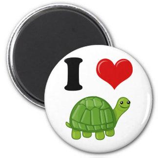 I Love Turtles Magnets