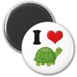 I Love Turtles Refrigerator Magnets