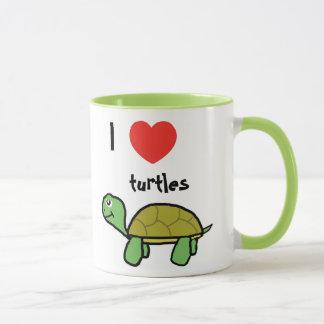 I love turtles sulk mug