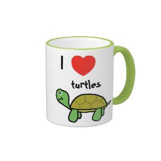 I love turtles sulk ringer mug
