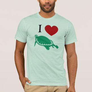 I Love Turtles T-Shirt