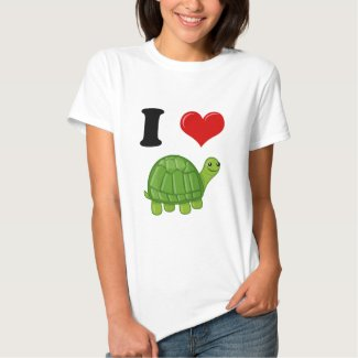 I Love Turtles T-shirts
