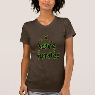 I Love Turtles Tshirt