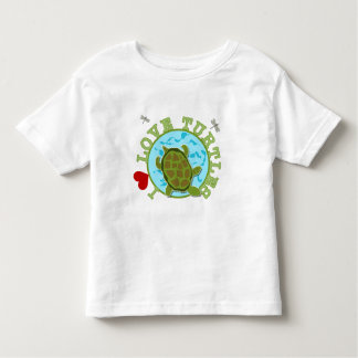 I Love Turtles Tshirts and Gifts