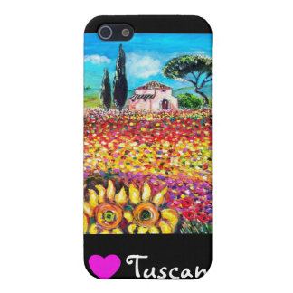 I LOVE TUSCANY CASE FOR iPhone SE/5/5s