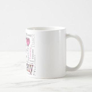 I love Tuscany Classic White Coffee Mug