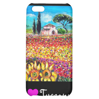 I LOVE TUSCANY CASE FOR iPhone 5C