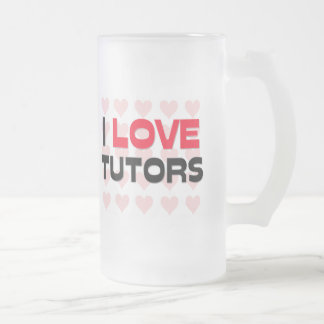 I LOVE TUTORS COFFEE MUG