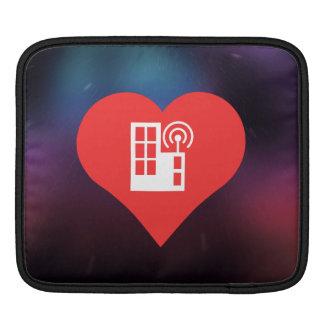 I Love Tv Antennas Modern Sleeve For iPads