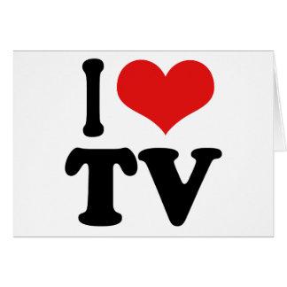 I Love TV Card