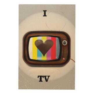 I love Tv cartoon poster