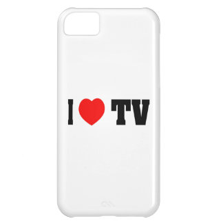 I Love TV Case For iPhone 5C