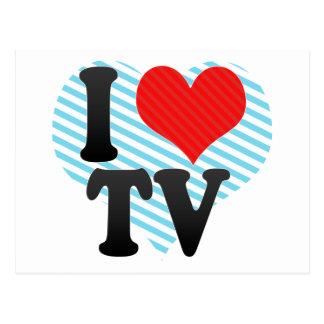 I Love TV Postcard