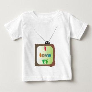 I Love TV Tee Shirt