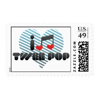 I Love Twee Pop Stamp