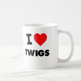 I love Twigs Classic White Coffee Mug