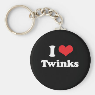 I LOVE TWINKS - .png Keychain