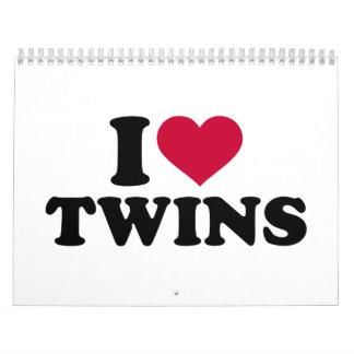I love Twins Calendar