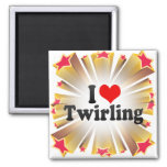 I Love Twirling Magnet