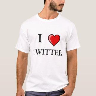 I,  LOVE TWITTER T-Shirt