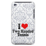 I love Two Handed Tennis Barely There iPod Covers