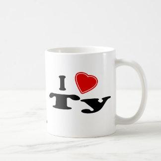 I Love Ty Coffee Mug