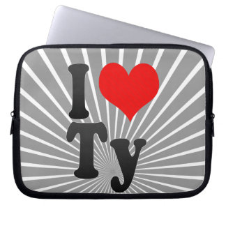 I love Ty Laptop Computer Sleeve