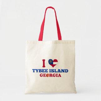 I Love Tybee Island Georgia Bags