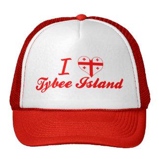 I Love Tybee Island, Georgia Trucker Hat