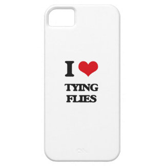 I love Tying Flies iPhone 5 Cover