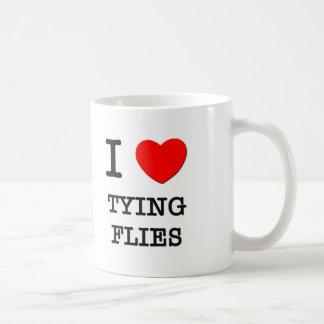 I Love Tying Flies Mug