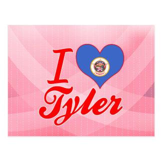 I Love Tyler, Minnesota Post Card