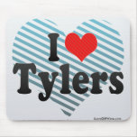 I Love Tylers Mouse Pad
