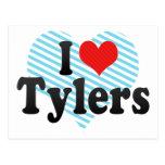 I Love Tylers Post Card